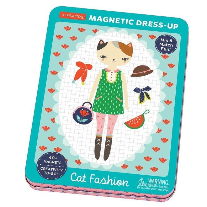 Magneetspel Dress-Up – Cat Fashion