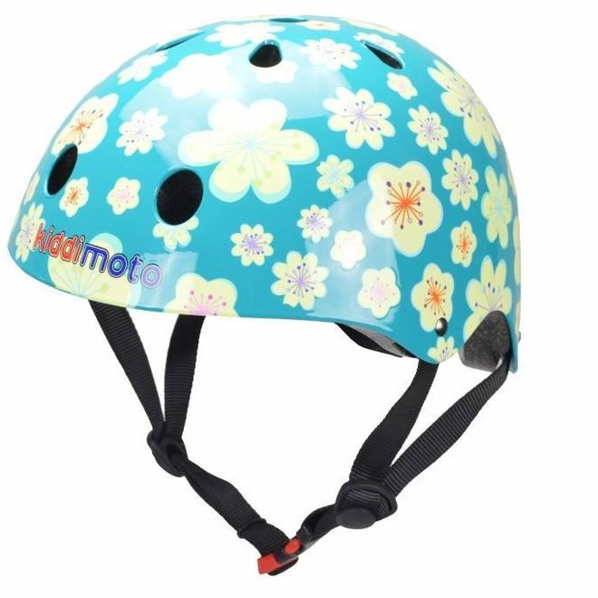 Skate- & fietshelm Bloemen Fleur   Kiddimoto
