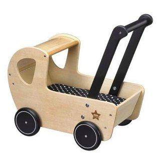 Kid's Concept Poppenwagen met Matrasje - NEO   Kid's concept