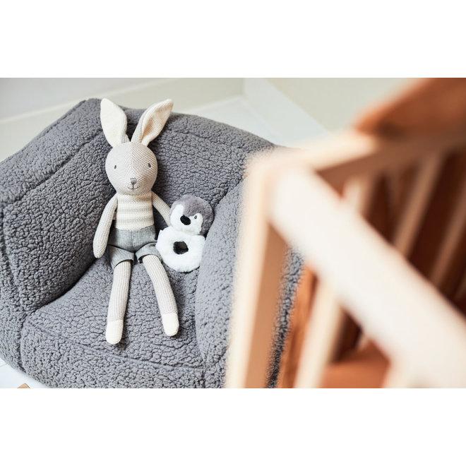 Kinderfauteuil / Beanbag Teddy Storm Grey