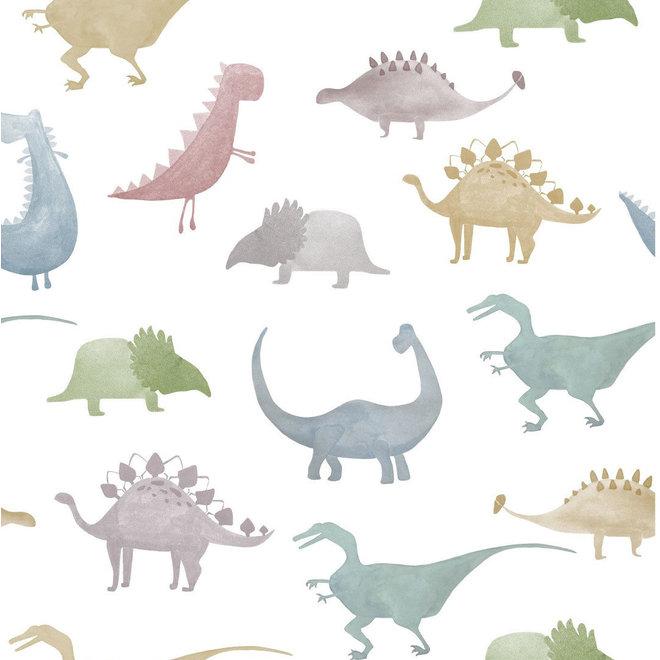 Dino Eenpersoons dekbedovertrek 140x200/220cm