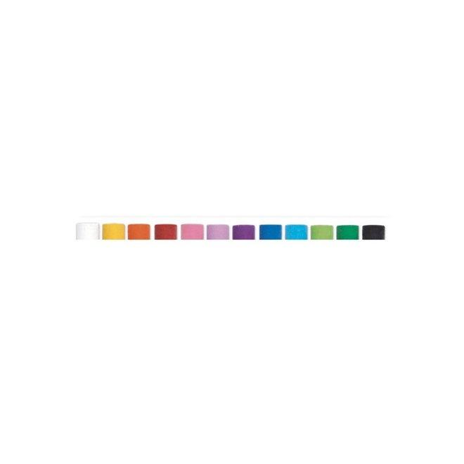 12 Olie pastel krijtjes - Klassieke kleuren