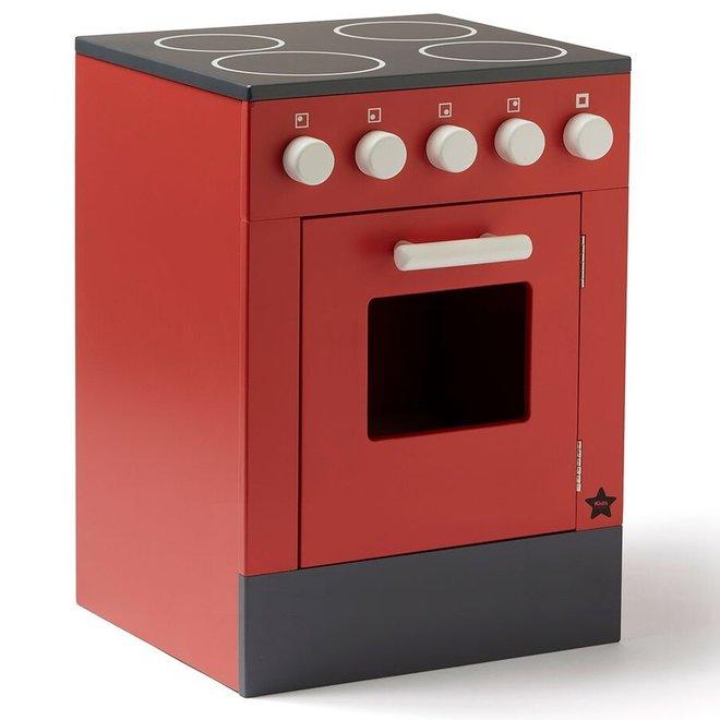 Houten Oven - Rood
