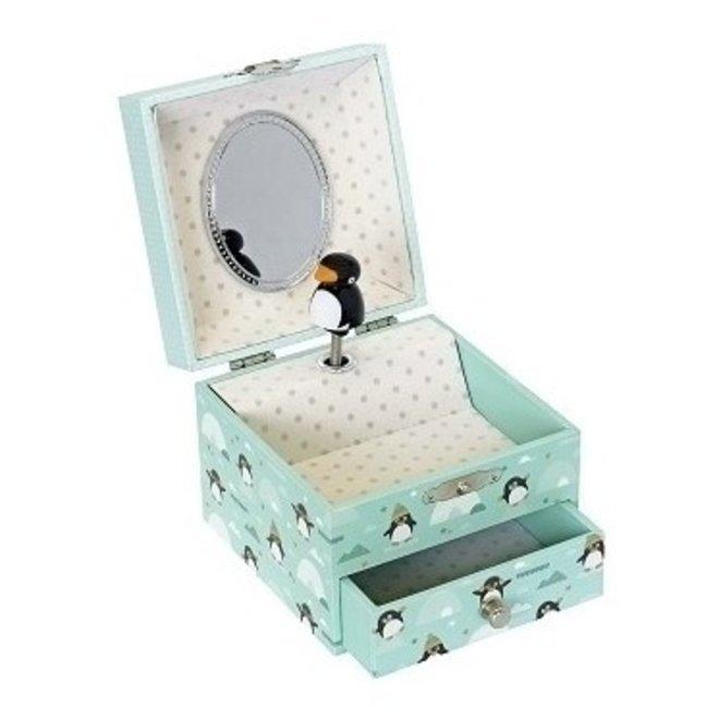 Muziekdoosje Pinguin