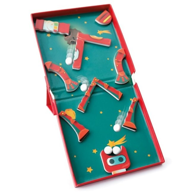 SCRATCH MAGNETIC PUZZLE 2 IN 1 ROBOTS