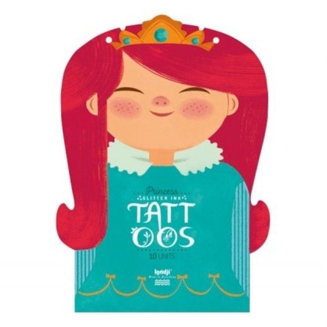 Tattoos Set van 10 Princess | Londji