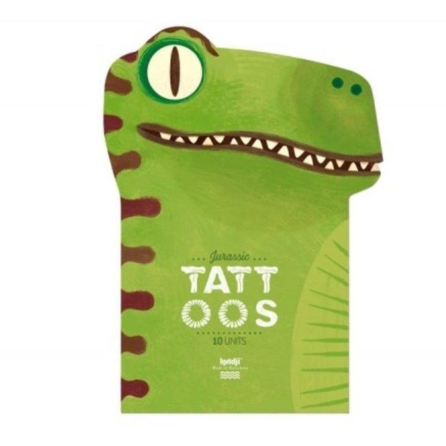 Tattoos Set van 10 Jurassic | Londji