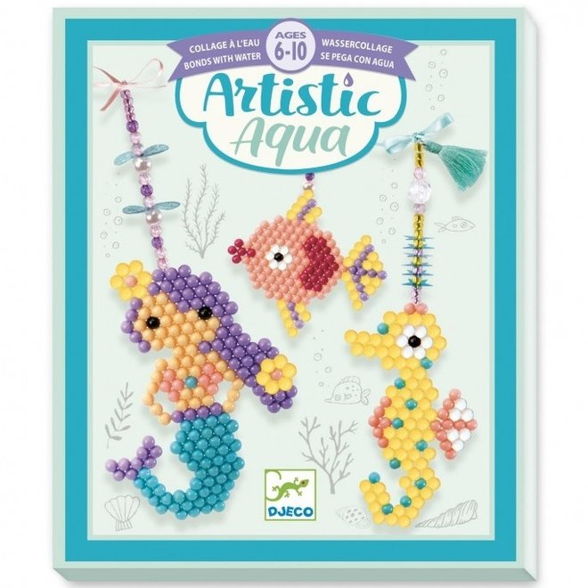 Artistic Aqua Bedeltjes Zee  | Djeco