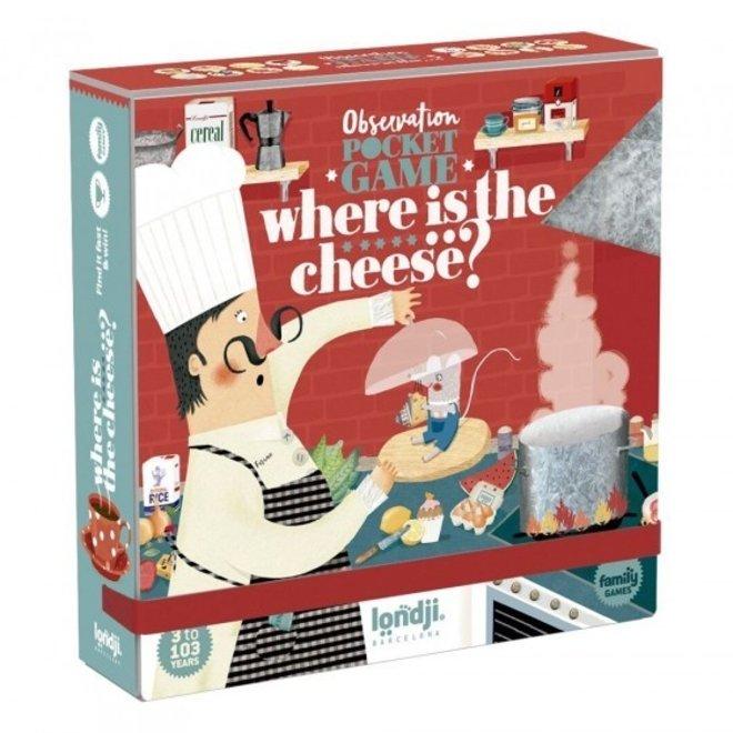 Observatiespel Where Is The... Cheese|  Londji