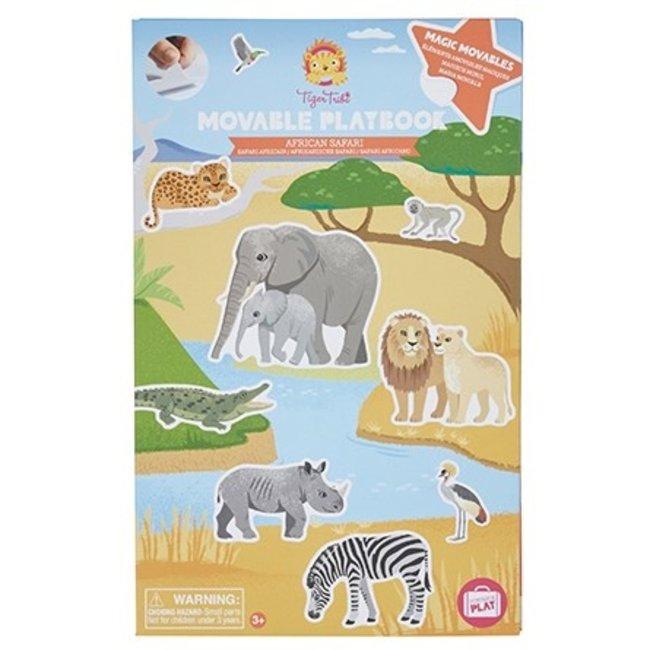 Tiger Tribe Magisch stickerboek - African Safari
