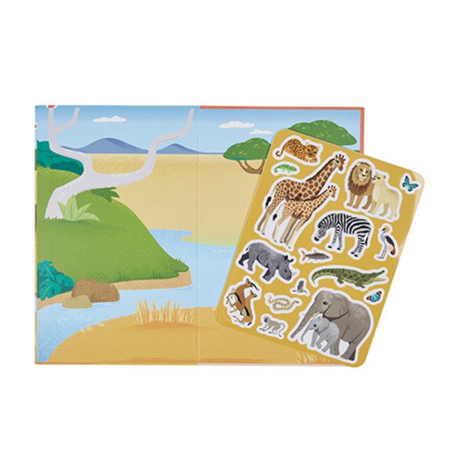 Magisch stickerboek - African Safari