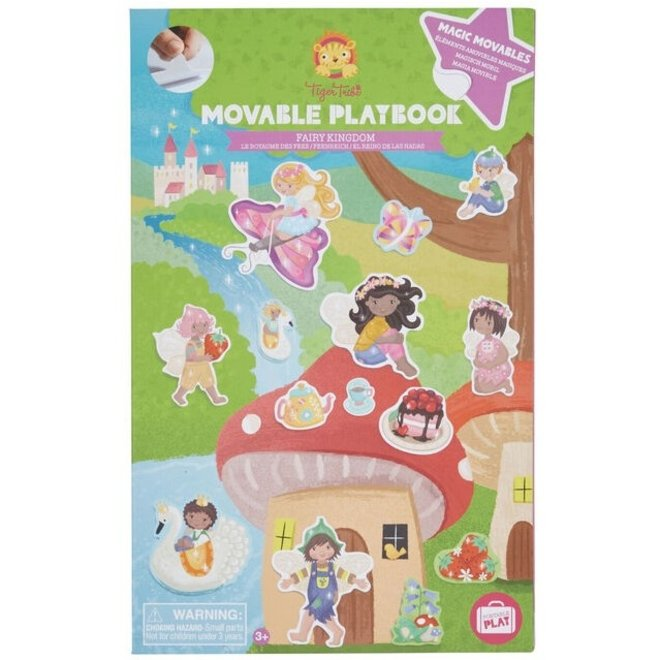 Magisch stickerboek - Fairy Kingdom