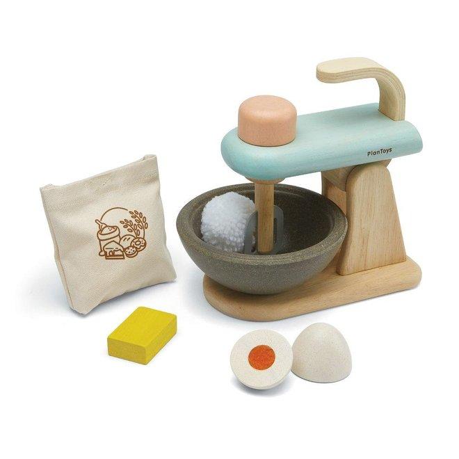 Houten Mixer Set