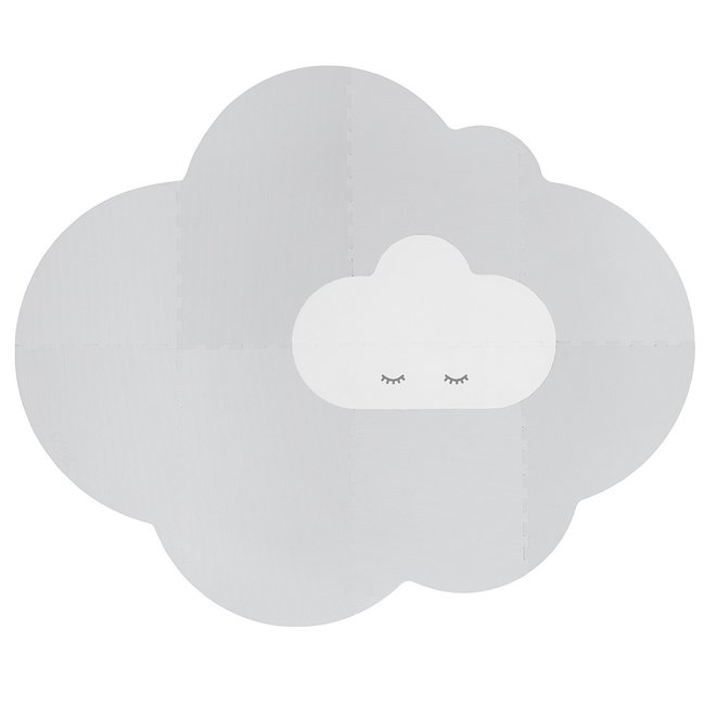 Quut Speelmat Head in the clouds L Pearl Grey
