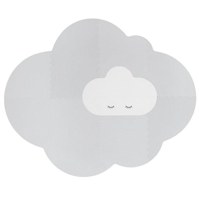 Speelmat Head in the clouds L Pearl Grey