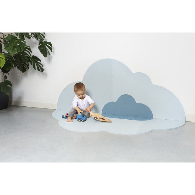 Speelmat Head in the clouds L Dusty Blue