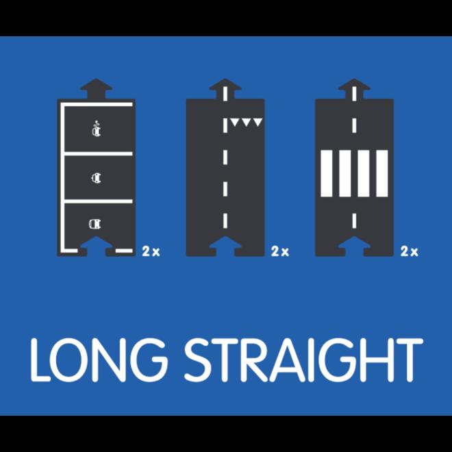 Extension Set - Long Straight (6 delen)