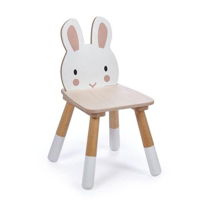 Tender Leaf Toys Houten Kinderstoel - Konijn