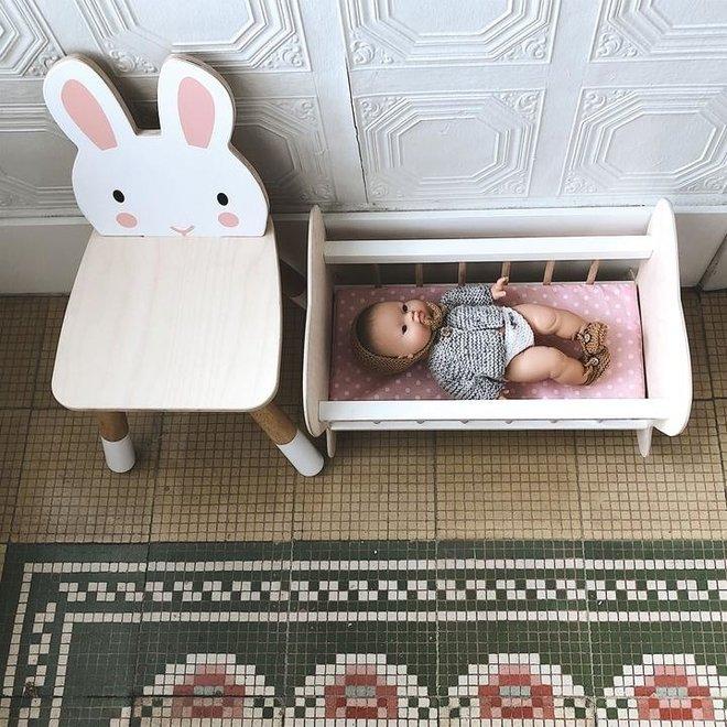 Houten Kinderstoel - Konijn