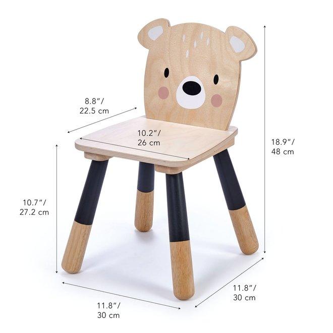 Kindertafel + 2 Houten Kinderstoelen
