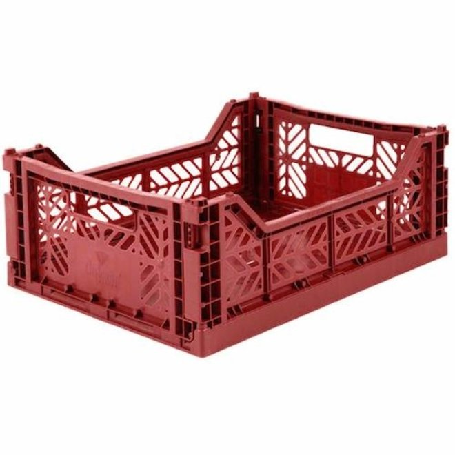 Opvouwbaar Krat - Tile red Medium