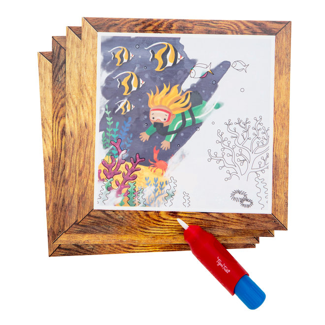 Magic Painting World - Ocean | Tiger Tribe