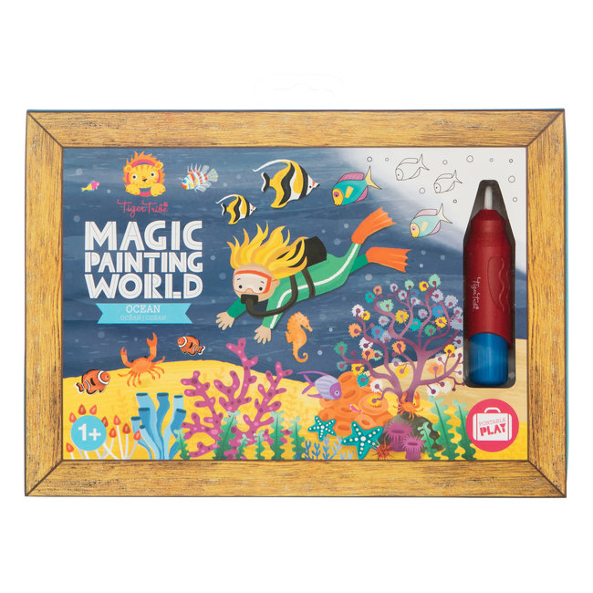 Tiger Tribe Magic Painting World - Ocean | Tiger Tribe