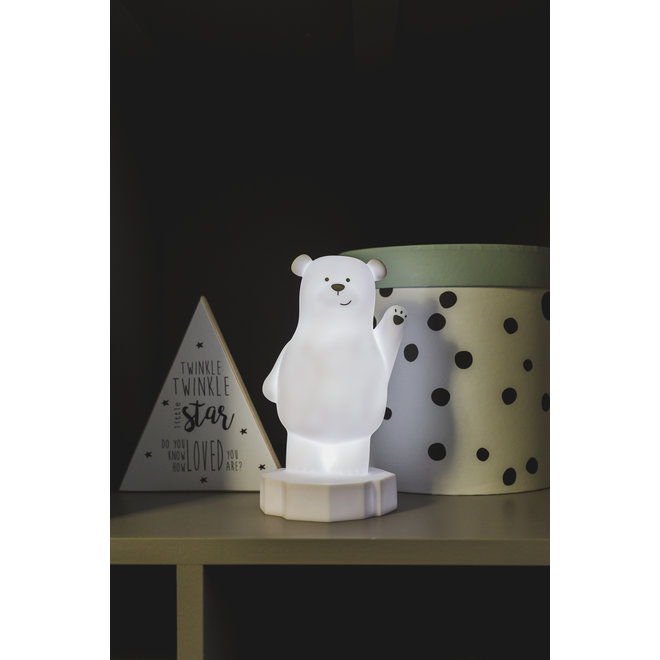 Nachtlamp LED - Beer Lou Wit