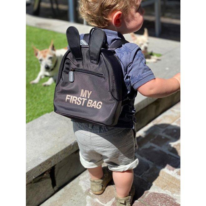 Kids My first bag - Rugzakje Zwart | Childhome