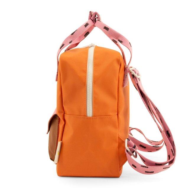 Rugzak Sprinkles Envelope Carrot Orange - Small | Sticky Lemon