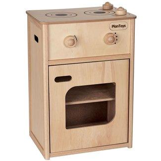 Plan Toys Houten Speelgoedkeuken met oven