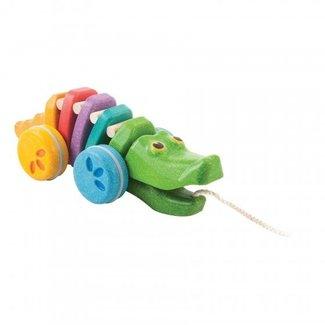 Plan Toys Trekspeeltje Rainbow Alligator