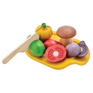 Plan Toys Houten Groenten speelset