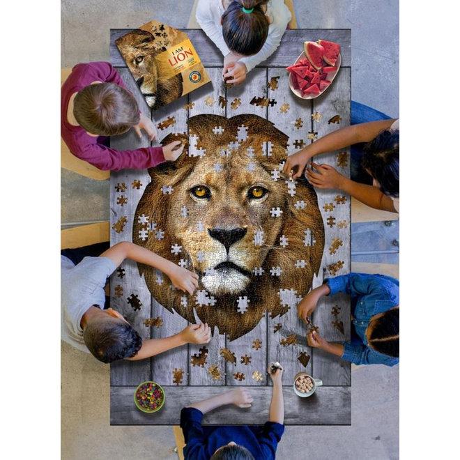 Leeuw puzzel - 500st | Madd Capp