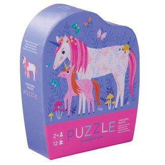 Crocodile Creek Mini Puzzel Unicorn Magic 12st