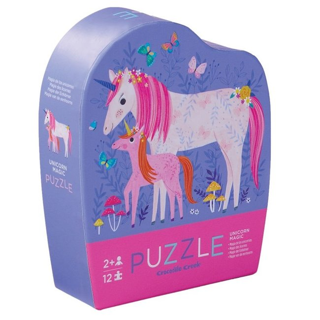 Mini Puzzel Unicorn Magic 12st