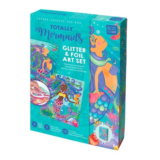 Box Candiy Knutselset Glitters & Folie - Mermaids