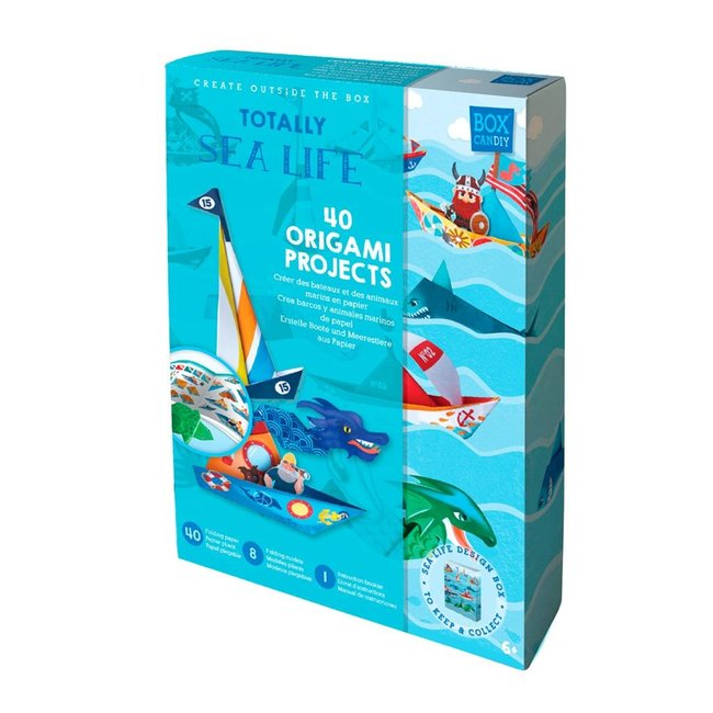 Box Candiy Knutselset Origami - Sea Life