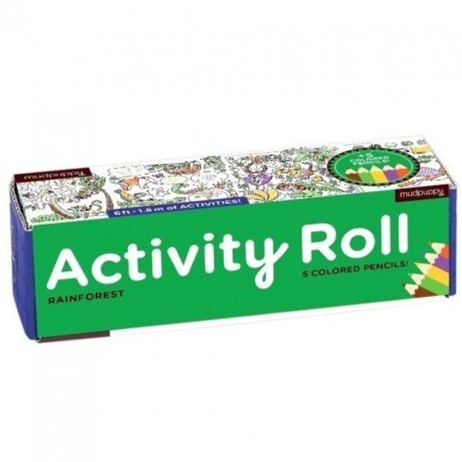 Mudpuppy Activity Roll Rainforest