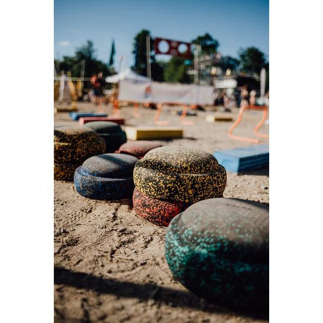 Stapelstein stenen Safari Rainbow - Set van 8