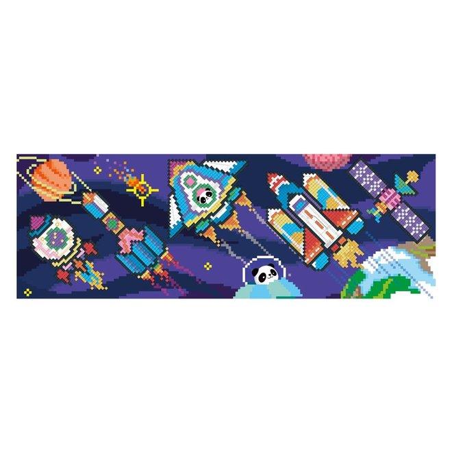 Pixelation Art - Space XL Poster