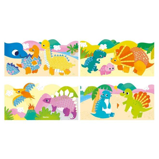 Mijn eerste Mozaïekboek - Dinosaurus