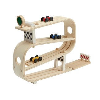Plan Toys Houten Racebaan - Circuit Racer