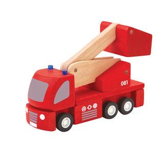 Plan Toys Houten Brandweerwagen