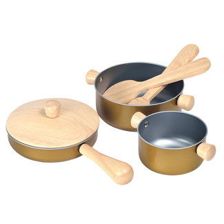 Plan Toys Potten & Pannen set