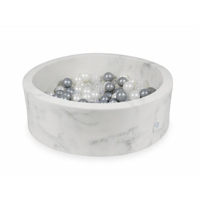 Ballenbad Marble 90x30 cm incl. ballen