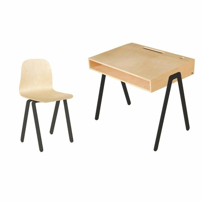 Kinderbureau met stoel - Large (6-10 jaar)
