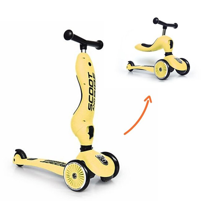 Scoot and Ride Step - Highwaykick 1 - Lemon   Scoot and Ride