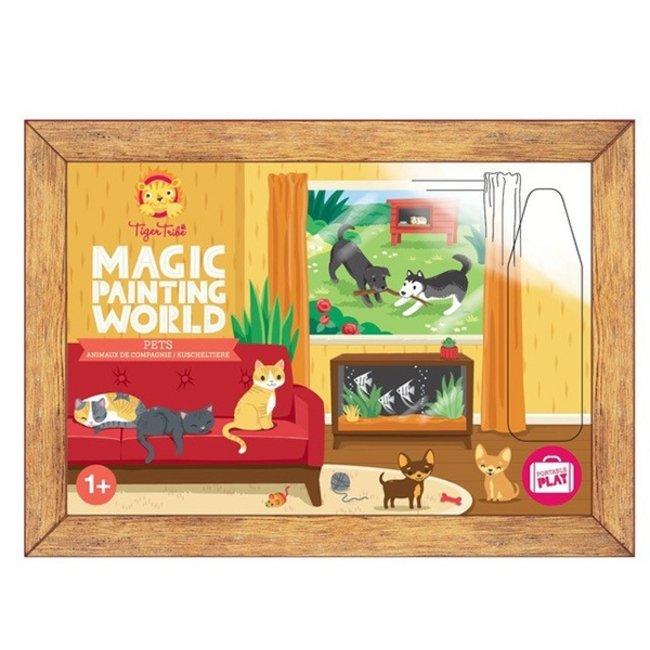 Magic Painting World -  Huisdieren   Tiger Tribe