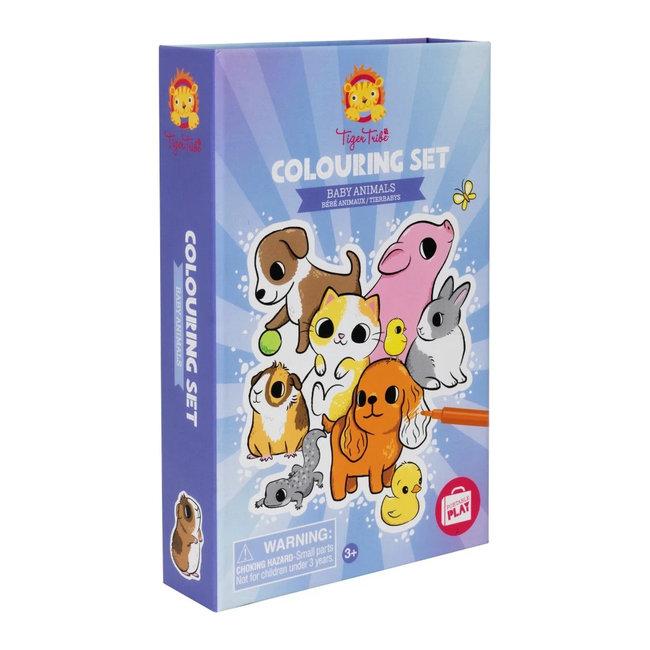 Kleurset Baby Animals